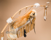 Bow and Fox Pelt Quiver Set - Saddle