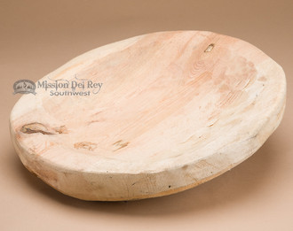 Rustic unfinished carved bowl.
