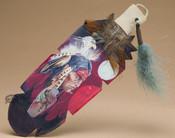 Cedar Feather Wall Art Hanging - Dragonfly Prayer