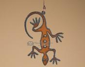 Metal Art Pull Chain - Lizard