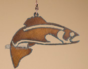 Wildlife Metal Chain Pull - Fish