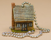 Painted Resin Chainpull - Cabin