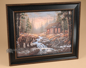 Western Cowboy Art - Bear Creek