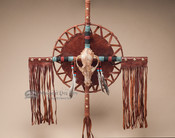 "Southwestern Pueblo Native American Cross 20"" -Coyote (c2)"