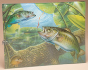 Tempered Glass Cutting Board - Fishing