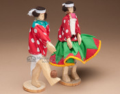 Wooden Tarahumara Dolls