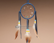 Native American Dream Catcher - Blue