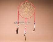 """10"""" Handwoven Dreamcatcher - Red"""