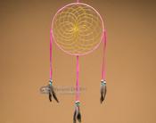 "10"" Shoshone Dreamcatcher - Hot Pink"