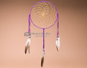 "10"" Dream catcher - Purple"