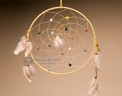 Beaded Dreamcatcher - 12""