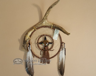 Genuine Antler with Dreamcatcher Combo