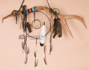 Elk Antler Medicine Wheel Dreamcatcher