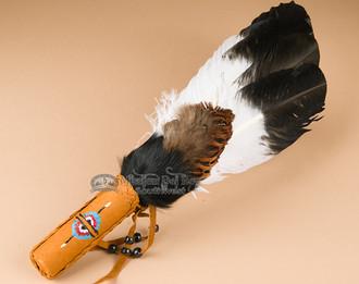 Shoshone smudging fan.