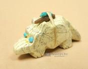 Hand Carved Stone Zuni Fetish -Beaver