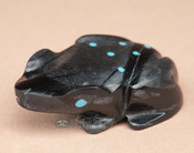 Hand Carved Stone Zuni Fetish -Frog (f49)