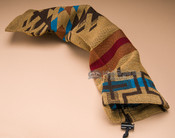 "Native Design Woven Flute Bag 24"" -Isleta Pattern"