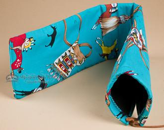 "Native American Flute Bag 24"" -Navajo"