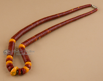 """Native American Beaded Necklace 19.5"""""""