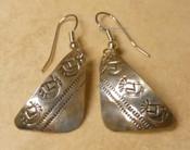 Navajo Sterling Silver Earrings