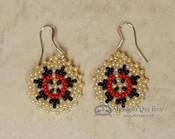 Native American Beaded Earrings -Wedding