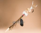 """Apache Double Skull Antler Trail Marker 37"""""""