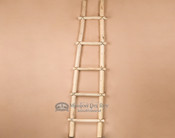Southwestern hand made pine Kiva ladder by the Tarahumara Indians. 6'