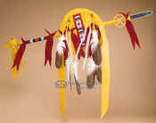 "Pueblo Indian Lance & Shield Set 42"" -Tigua"