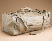 "Handcrafted Leather Travel Bag 22"" -Distressed Beige (db16)"
