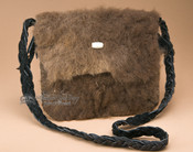 Native American Buffalo Hide Medicine Bag