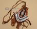 "Deer Skin Beaded Medicine Bag 3.5"""
