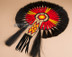 Native American Beaded and Horse Hair Dance Bustle-Turtle
