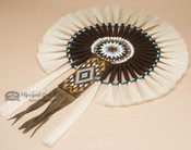 Navajo Beaded Horse Hair Bustle