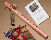 Native American Flute Walnut Buffalo