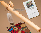 Native American Flute Natural Bear
