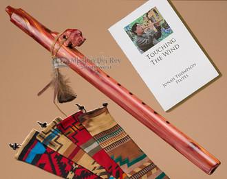 Native American Cedar Flute Buffalo