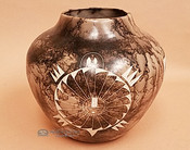 Large Horsehair Pot -Turtle