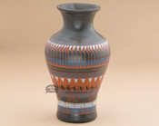 Navajo Etched Pottery Vase