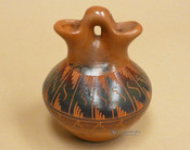 Horsehair Navajo Wedding Vase