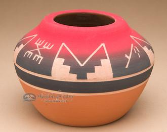 Lakota Red Clay Medicine Bowl