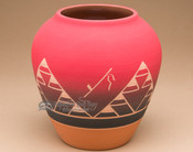 "Lakota Indian Harvest Vase 7.25"" -Sioux (p610)"