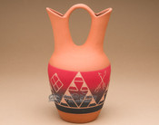 "Lakota Red Indian Wedding Vase 9.5"" -Sioux (p611)"