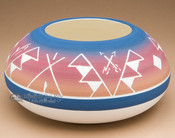 "Native American Indian Planter Vase 6"" x 3"" -Sioux (p614)"