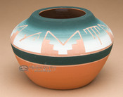 "Native American Pottery Medicine Bowl 4"" -Sioux (p619)"