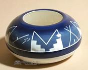 Blue Sioux Vase