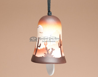 Native Southwest Navajo Pottery Wind Bell