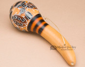 Andean Etched Gourd Rattle