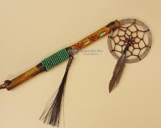 Native American Spirit Stick - Green