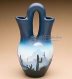 Wedding vase pottery - Navajo