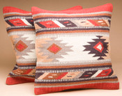 Pair Southwest Wool Pillow Covers - Hopi